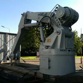 RIB Crane and HPU Completed